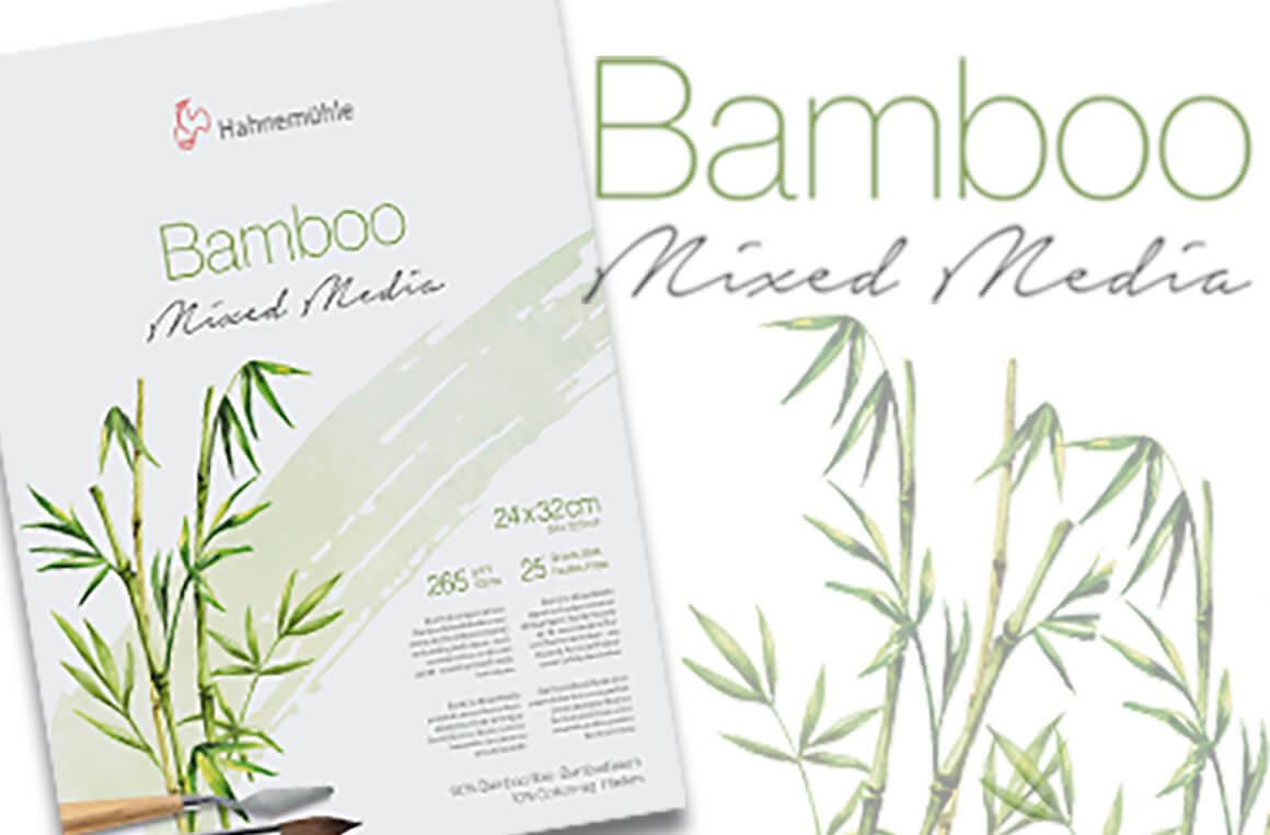 Hahnemühle NATURAL Line - Bamboo Mixed Media Papier - bequem im kunstpark bestellen