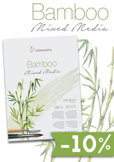 Hahnemühle Bamboo Mixed Media Papier - im kunstpark SALE