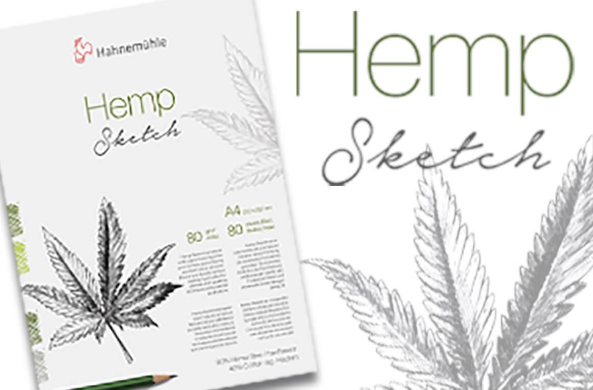 NEU - Hahnemühle Natural Line - Hemp Sketch Papier - jetzt im kunstpark bestellen