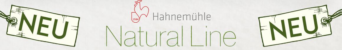 NEU - Hahnemühle NATURAL Line jetzt online im kunstpark-entdecken