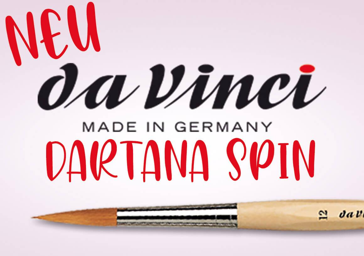 Da Vinci Neuheit - Dartana Spin Pinsel - Online im kunstpark
