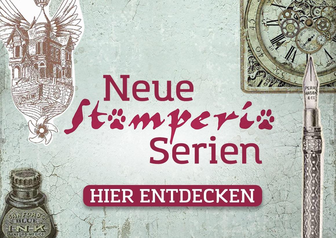 Neue Scrapbooking Serien von Stamperia im kunstpark