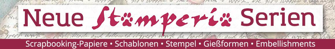 Neue Stamperia Scrapbooking Serien - jetzt im kunstpark
