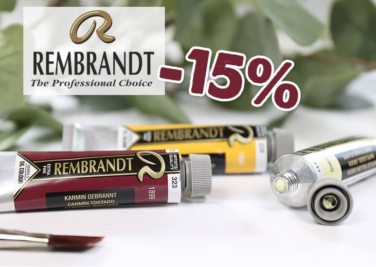 Rembrandt Ölfarben - jetzt mit -15% Rabatt im kunstpark