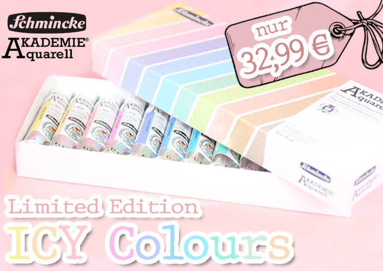 Schmincke Akademie Aquarell - LIMITED EDITION - Icy Colors