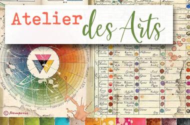 Neue Stamperia Scrapbooking Serie - ATELIER DES ARTS - jetzt im kunstpark