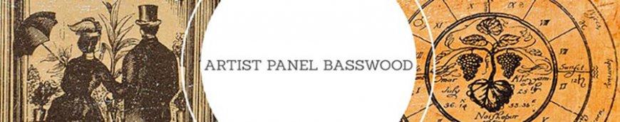 artist panel basswood ampersand