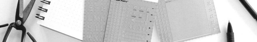 journal schablonen online im kunstpark bestellen