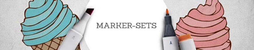 marker sets kaufen banner