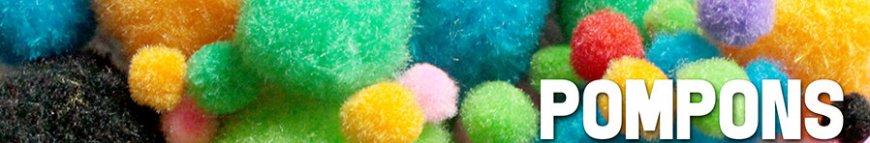 pompons im kunstpark bestellen
