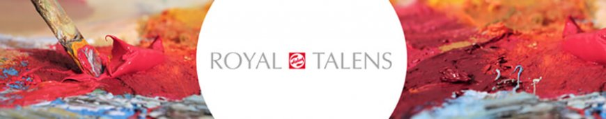 royal talens shop im kunstpark banner