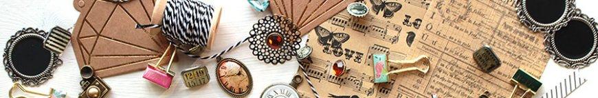 scrapbooking embellishments im kunstpark kaufen