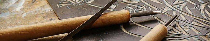 werkzeuge fuer linoldruckkuenstler ban