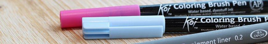zentangle stifte in vielen farben kaufen banner