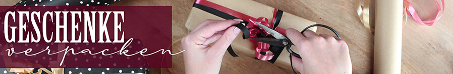 bastelbedarf geschenke verpacken banner