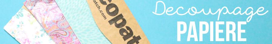decoupage papiere mit vielen mustern im kunstpark entdecken