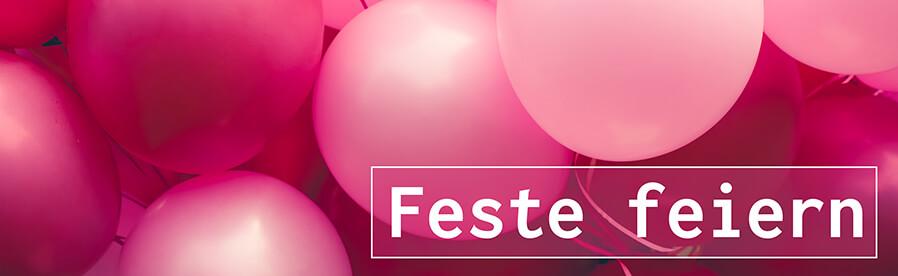 feste feiern deko luftballons und weiteres im kunstpark entdecken