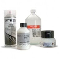 Acryl Schlußbehandlung für Acrylfarben