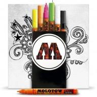 Acrylstifte - echte Acryl-Farbe im Stift
