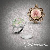 Cabochon Material zum Cabochon basteln