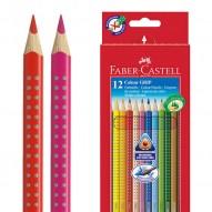 Colour Grip - dreieckige Farbstifte für