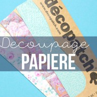 Decoupage Papier - gemusterte Papiere f�