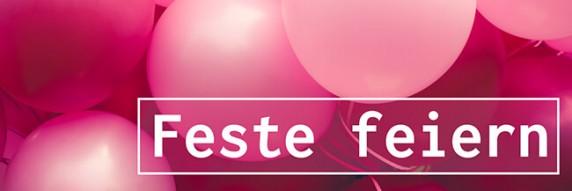 Feste feiern - DIY-Partydeko, Tischdeko