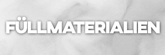 Füllmaterial - Watte & Körner zum