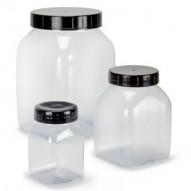 Leerflaschen + Dosen für Pigmente, Klei
