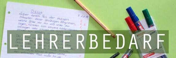 Lehrerbedarf - nützliche Utensilien &am