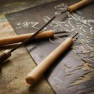 Linoldruck - Farben, Linolplatten &