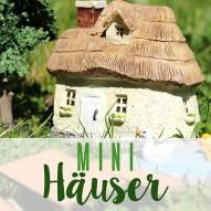 Miniaturhäuser - Häuser, Zäune, Mauer