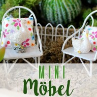 Miniatur Gartenmöbel - Gartenmöbel &am