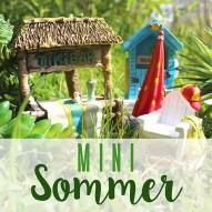 Sommer Minigarten - Strand, See & So