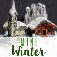 Winter Minigarten - willkommen im Winter
