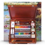 Ölfarben Sets und Malkästen mit viel Z