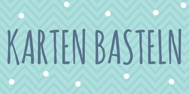 Osterkarten basteln - Materialien für O