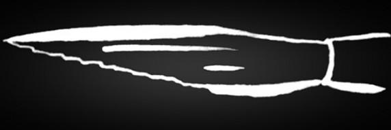 Schwertschlepper Lange Linien ohne abzus