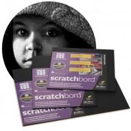 ScratchBord - schwarz-beschichtetes Holz