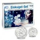 Eiskugel-Set für kristallartige Kugelhüllen, 23-teilig
