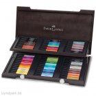 Faber-Castell PITT artist pen - 90er-Set im Holzkoffer