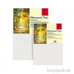 Bütten Aquarellpapier Gewicht 250 g/m² 25 x 35 cm, 5 Blatt