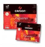 Canson FIGUERAS Öl + Acrylblock, 10 Blatt, 290g 42 x 56 cm