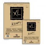 Canson XL Kraft Zeichenpapier, 60 Blatt, 90g