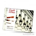 Conte Skizzen Set mit Zubehör im Metallkasten