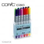 COPIC ciao Set 12er - Colors
