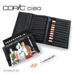 COPIC ciao Set 12er - Hautfarben im Wallet