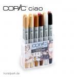 COPIC ciao Set 12er - Hautfarben
