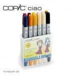 COPIC ciao Set 12er - Schuluniformen