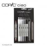 COPIC ciao Set 5+1 - Grautöne